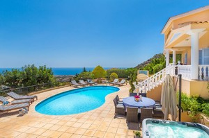 Paradise Cottage — Luxury villa for rent in Paphos