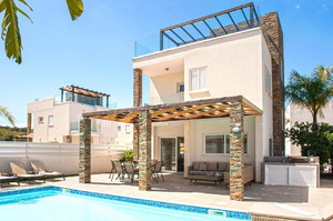 Anastasia Villa — Luxury villa for rent in Protaras